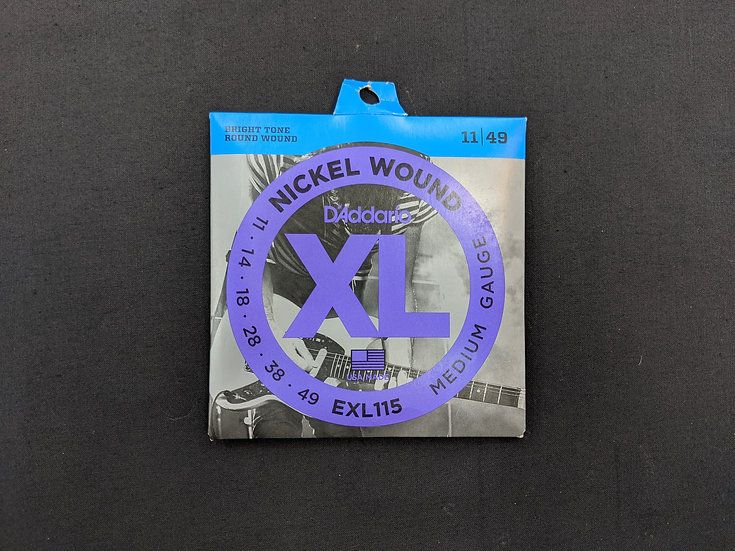 D'Addario XL Nickel Wound EXL115 Medium Gauge