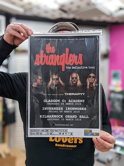 A3 Poster - The Stranglers - The Definitive Tour