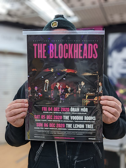 A3 Poster - The Blockheads