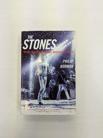 The Rolling Stones - The Stones: The Acclaimed Biography by Philip Norman - Book