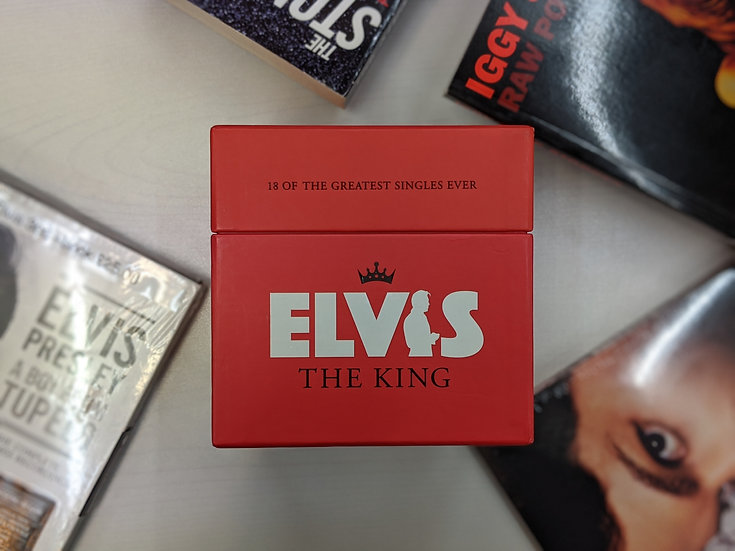 Elvis The King: 18 of The Greatest Single Ever - CD Collection