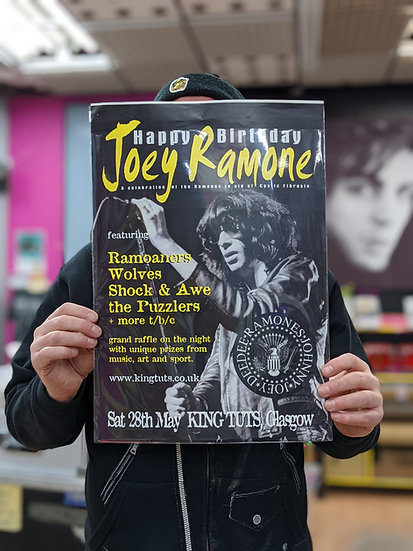 A3 Poster - Joey Ramone
