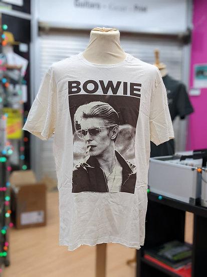 White Bowie T-shirt