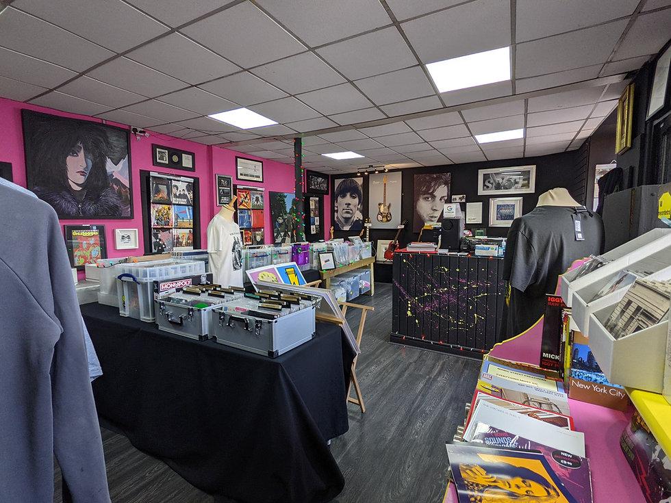 Shop  Floor of Blitzkrieg Shop at 204 London Road G40 1PB