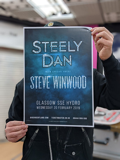 A3 Poster - Steely Dan