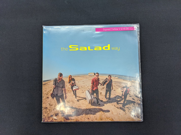 Salad - The Salad Way - Signed Yellow Vinyl