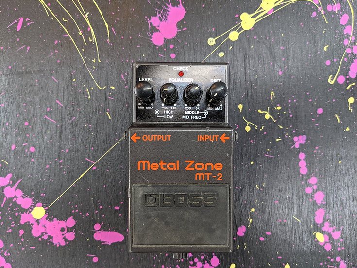 Vintage Boss MT-2 Metal Zone (Made in Taiwan)
