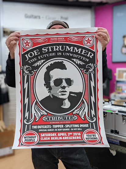 Limited Edition Joe Strummer Print