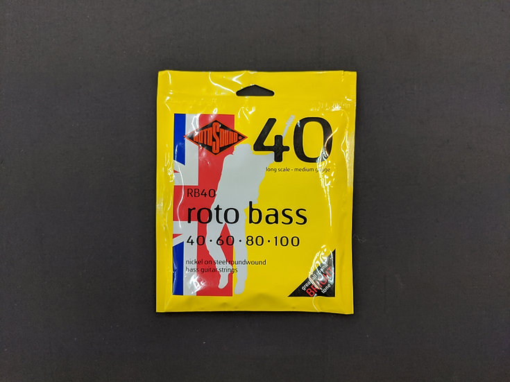 Rotosound Rotobass RB40 Bass Guitar Strings