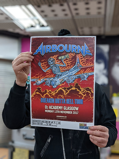 A3 Poster - Airbourne