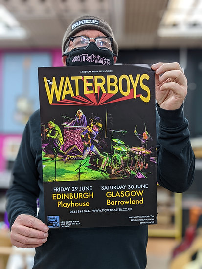 A3 Poster - Waterboys