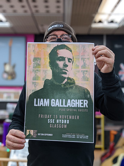 A3 Poster - Liam Gallagher