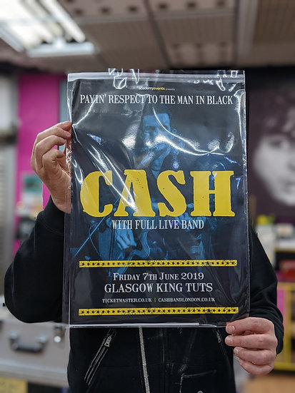 A3 Poster - Cash (With the full live band)