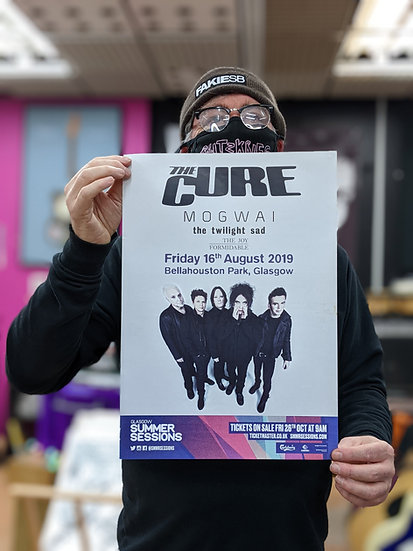 A3 Poster - The Cure