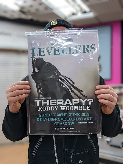 A3 Poster - Levellers 2