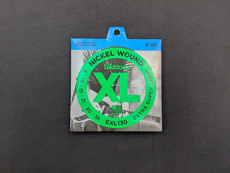 D'Addario XL Nickel Wound EXL130 Extra Super Light