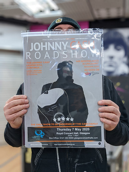 A3 Poster - Johnny Cash Roadshow