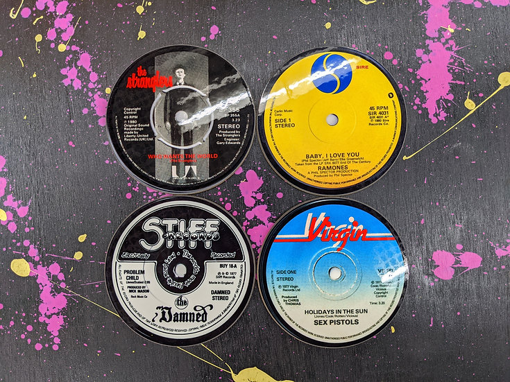 Drink Coaster Set - Classic Punk4