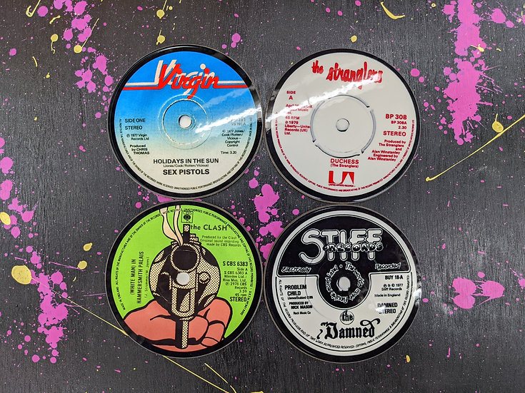 Drink Coaster Set - Classic Punk 1