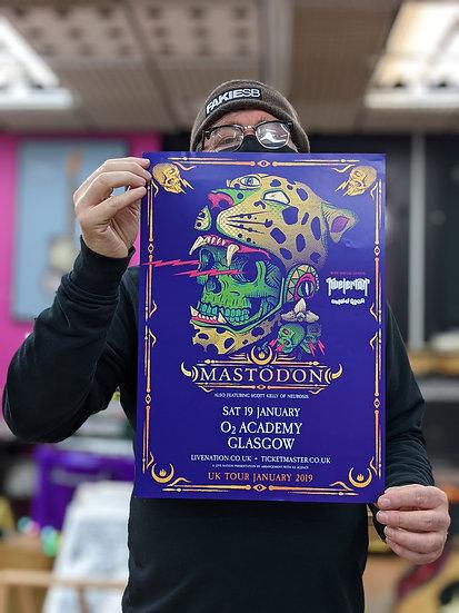 A3 Poster - Mastodon
