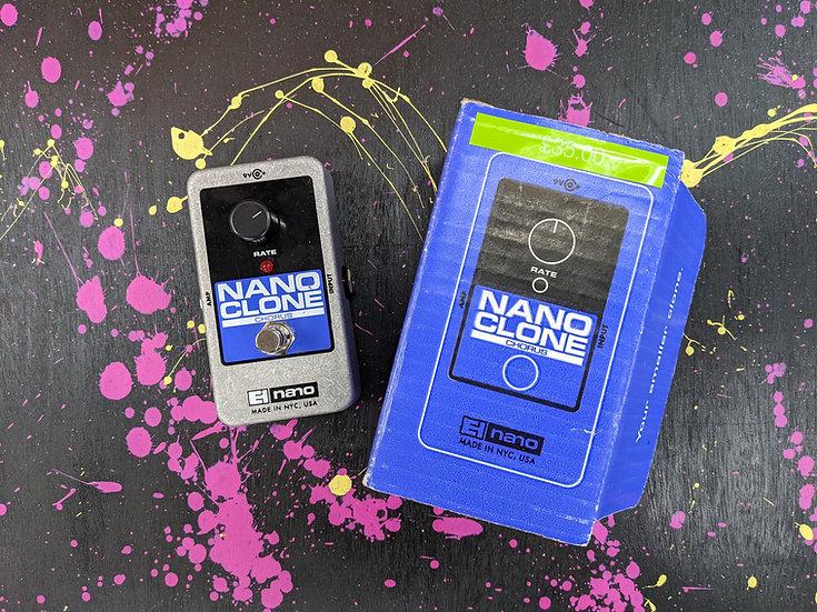 Electro Harmonix Nano Clone Chorus Pedal (EHX)