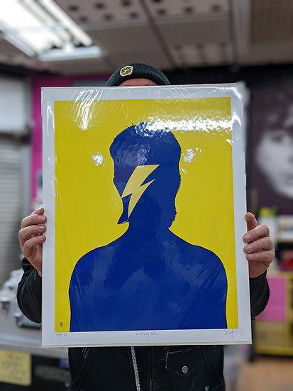 Ross Muir Limited Edition Giclee Print - Lightning Boltz