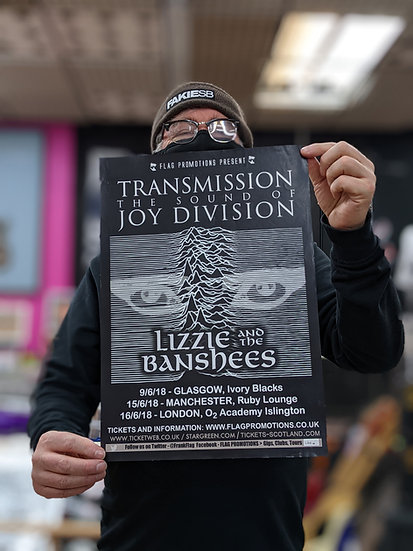 A3 Poster - Joy Division