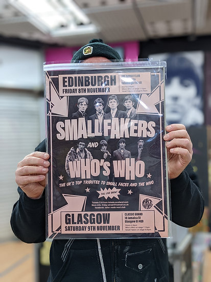 A3 Poster - Small Fakers and Who's Who