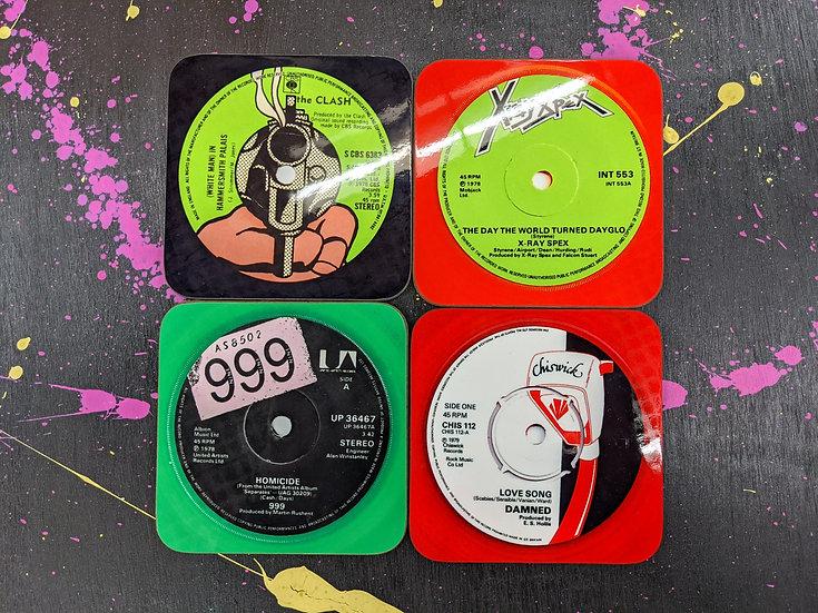 Drink Coaster Set - Punk 3