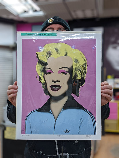 Ross Muir Limited Edition Giclee Print -Mazza