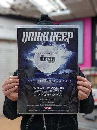 A3 Poster - Uriah Heep