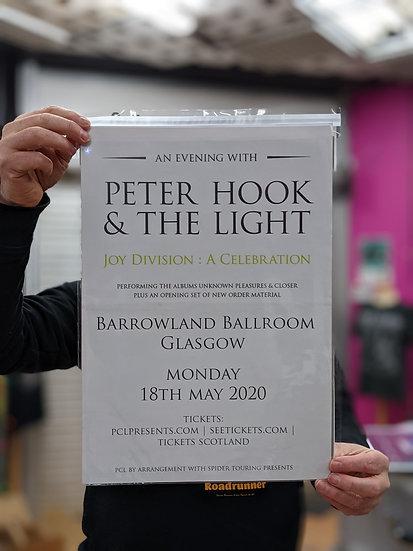 A3 Poster - Peter Hook & The Light