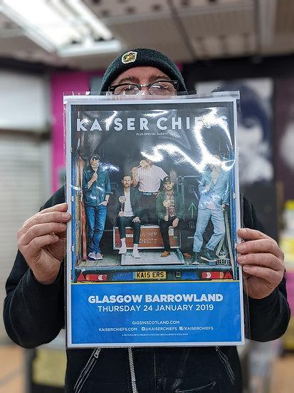 A3 Poster - Kaiser Chiefs