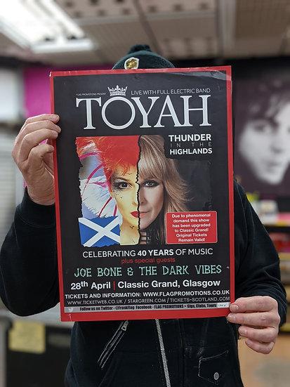 A3 Poster - Toyah
