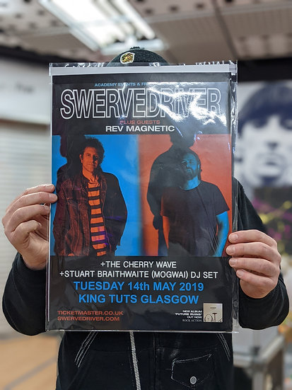 A3 Poster - Swervedriver