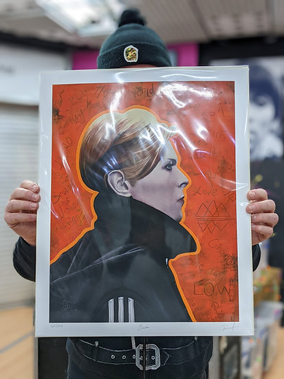 Ross Muir Limited Edition Giclee Print - Bowie