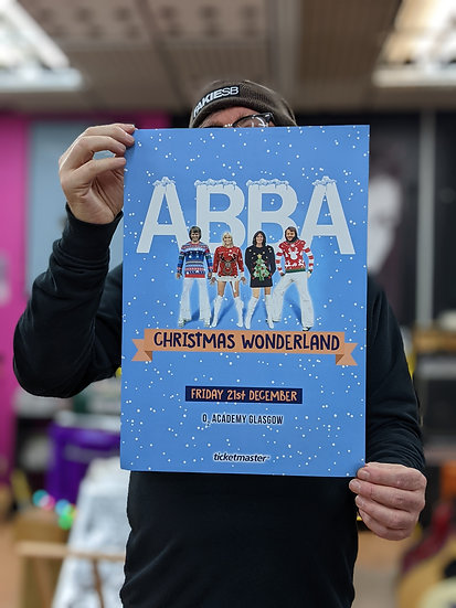 A3 Poster - ABBA