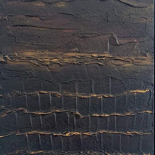 """Crocodile"" 12""x 12"" Painting"