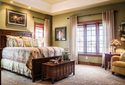 Lake front bedroom