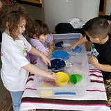 Sensory Doll Washing
