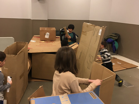 Boxes can stimulate a lot of creative and critical thinking.