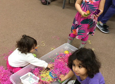 New ways to play with plastic Easter eggs!