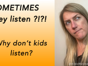 Kids have selective listening! Here's how to get them to follow your directions.