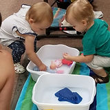 Sensory : Doll washing
