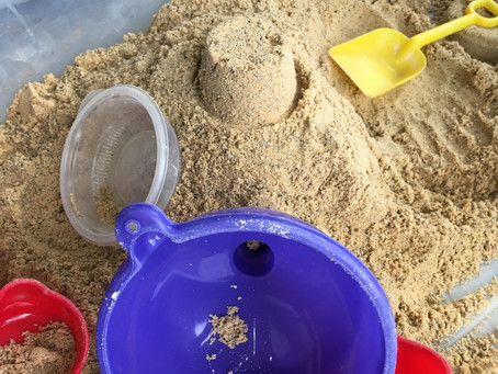 How to create a sandbox in your living room.