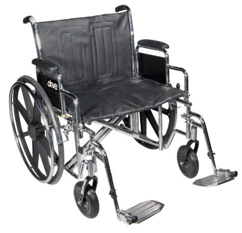 "Sentra EC Bariatric Heavy Duty 22 "" Wheelchair"