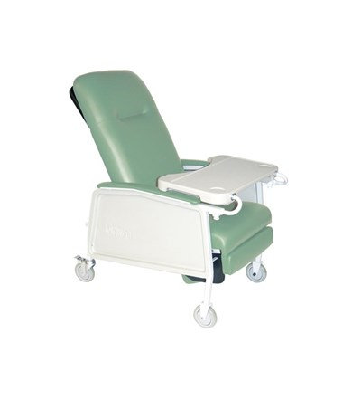 (Jade Green) 3 Position Geri Convalescent Recliner Chair