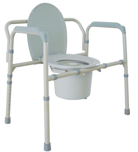 Drive Folding Bariatric Commode