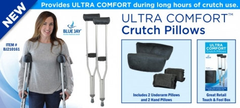 Blue Jay Ultra Comfort Crutch Pillows