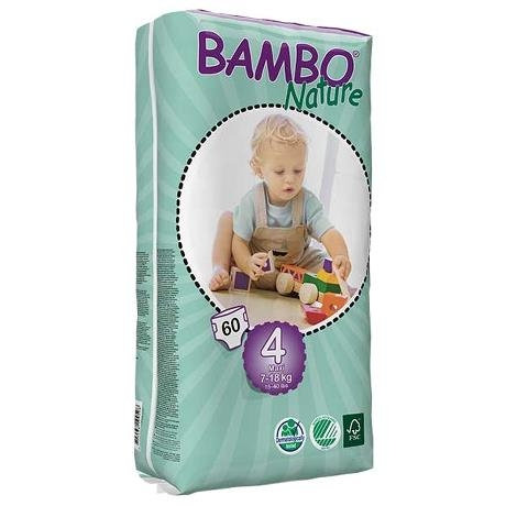 ABENA Bambo Nature Maxi Tall Diapers (6- 18 mos)